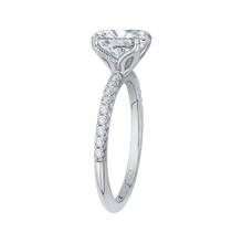 Load image into Gallery viewer, Oval Diamond Engagement Ring CARIZZA CAO0208E-37W-1.50