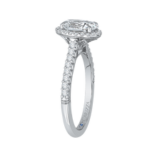 Load image into Gallery viewer, Semi-Mount Oval Diamond Engagement Ring CARIZZA CAO0210E-37W-1.50