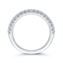 Load image into Gallery viewer, Half-Eternity Diamond Wedding Band CARIZZA CAO0233BH-37W-1.50
