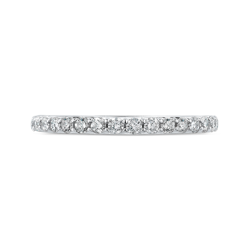 Half-Eternity Diamond Wedding Band CARIZZA CAO0233BH-37W-1.50