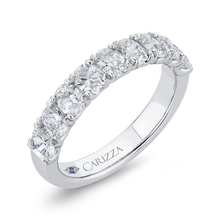 Load image into Gallery viewer, Oval Diamonds Wedding Band CARIZZA CAO0421BH-37W-1.25