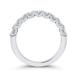 Oval Diamonds Wedding Band CARIZZA CAO0421BH-37W-1.25
