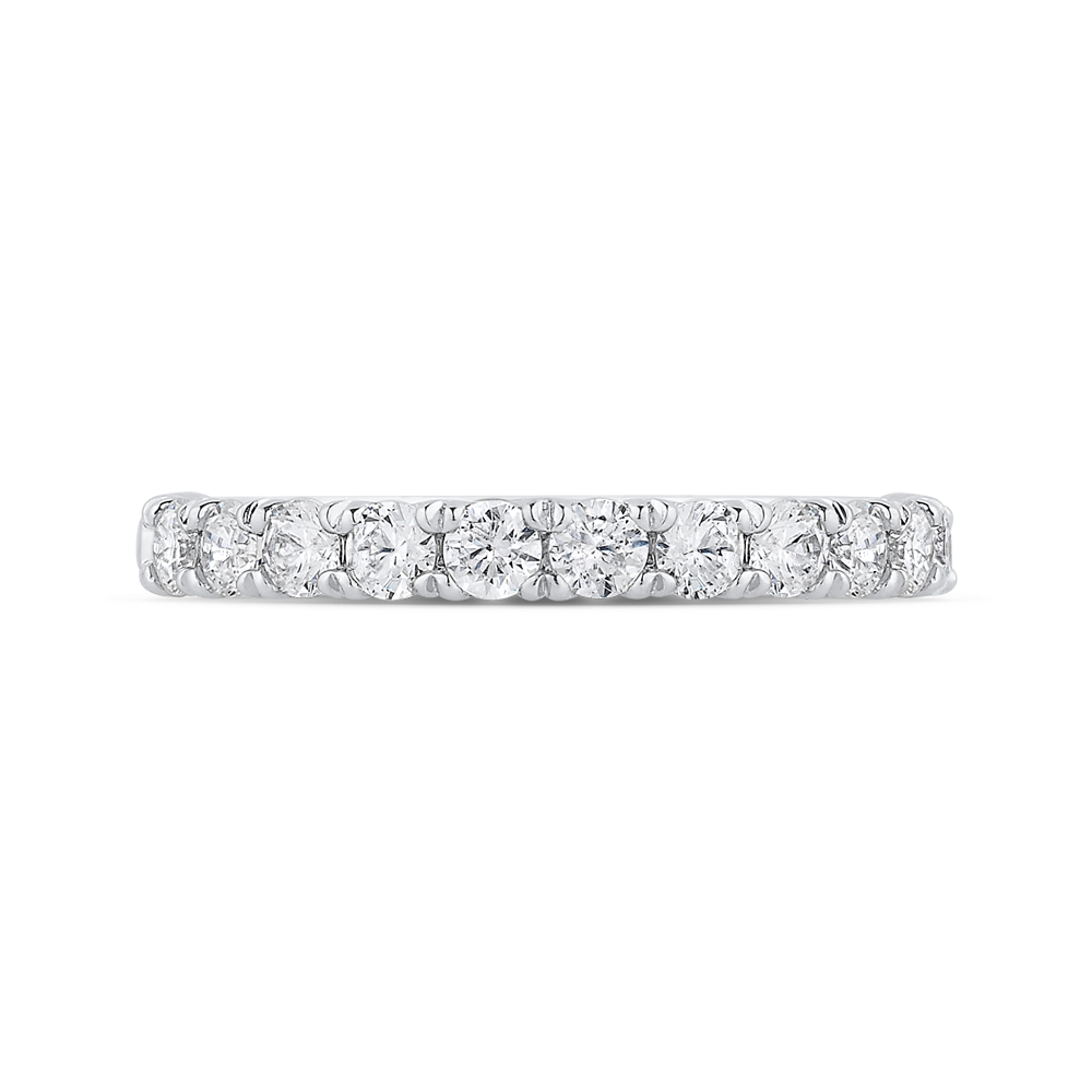 Ladies Diamond Wedding Band CARIZZA CAO0435BH-37W-1.00