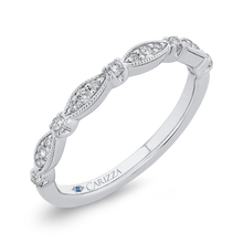 Load image into Gallery viewer, Ribbon Diamond Wedding Band CARIZZA CAO0453B-37W-1.10