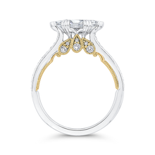 Load image into Gallery viewer, Marquise Diamond Engagement Ring CARIZZA CAQ0430EH-37WY-1.00