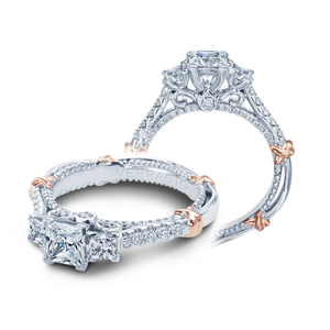 Verragio Parisian Collection – D-138P Style Diamond Engagement Mounting 0.65TW