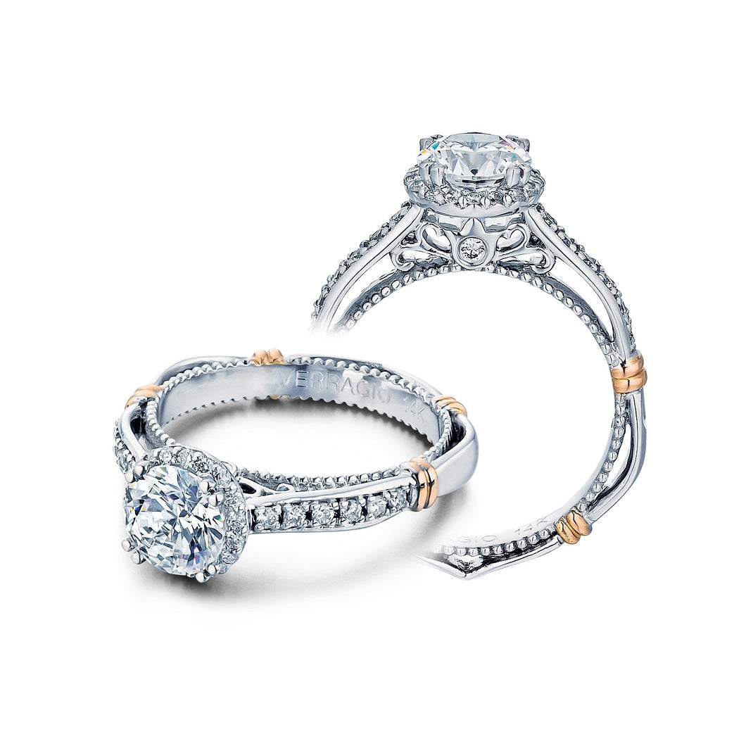Verragio Parisian Collection – D-104R Style Diamond Engagement Mounting 0.25TW