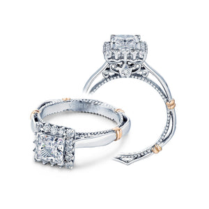 D-112P Verragio 14K 0.25ctw Semi- Mount Engagement Ring