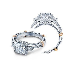Verragio Parisian D-122P Halo Prong Engagement Ring