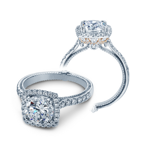 Verragio Couture Collection – ENG-0430DCU-2T Style Diamond Engagement Mounting 0.65TW