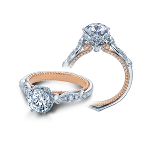 Verragio Pave Diamond Engagement Ring ENG-0443R-2WR