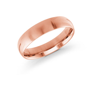 5mm pink Metal Plain High Polish Malo Band J-100-05PG
