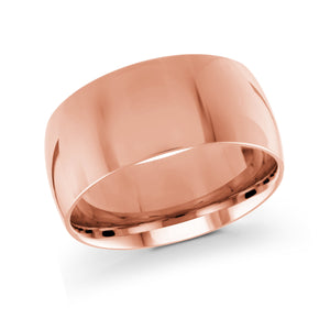 Pink Gold Plain Malo Wedding Band J-217-10PL