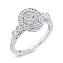 Load image into Gallery viewer, Round Diamond Engagement Ring Luminous LUR0235-42W-.50