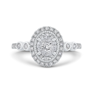 Round Diamond Engagement Ring Luminous LUR0235-42W-.50