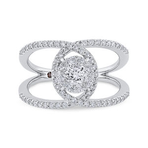 Round Diamond Fashion Ring Luminous LUR0237-42W-1.00