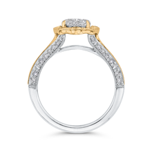 Load image into Gallery viewer, Oval Cut Diamond Engagement Ring Luminous LURO0239-42WY-1.50