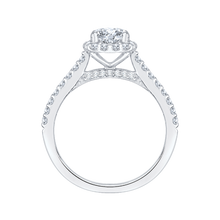 Load image into Gallery viewer, Round Diamond Engagement Ring Promezza PR0001EC-02W