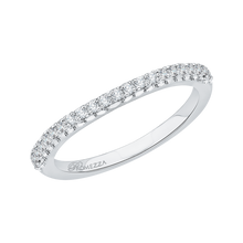 Load image into Gallery viewer, Round Diamond Wedding Band Promezza PR0011B-02W