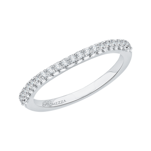 Round Diamond Wedding Band Promezza PR0011B-02W