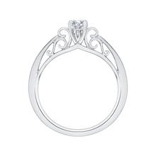 Load image into Gallery viewer, Solitaire Engagement Ring with Round Diamond Promezza PR0020EC-02W-.75