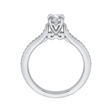 Load image into Gallery viewer, Round Cut Diamond Engagement Ring Promezza PR0022EC-02W-.50