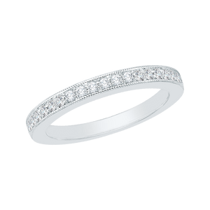 Channel Set Diamond Wedding Band Promezza PR0041B-02W