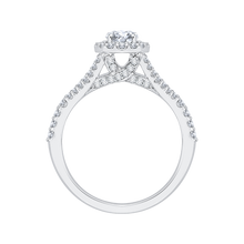 Load image into Gallery viewer, Split Shank Round Diamond Engagement Ring Promezza PR0056EC-02W
