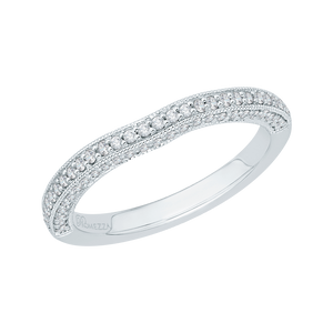 Half Eternity Diamond Wedding Band Promezza PR0068B-02W