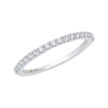 Load image into Gallery viewer, Round Diamond Wedding Band Promezza PR0081B-44W