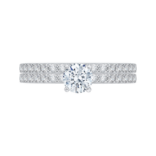 Load image into Gallery viewer, Round Cut Diamond Engagement Ring Promezza PR0087EC-44WY