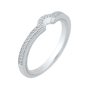 Diamond Wedding Band Promezza PR0124BH-44W-.50