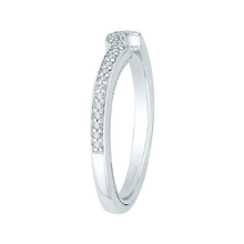 Load image into Gallery viewer, Diamond Wedding Band Promezza PR0124BH-44W-.50