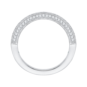 Half-Eternity Diamond Wedding Band Promezza PR0134BH-44W-.25