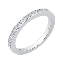 Load image into Gallery viewer, Half-Eternity Diamond Wedding Band Promezza PR0138BH-44W-.25