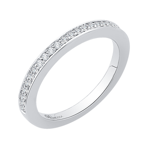 Half-Eternity Diamond Wedding Band Promezza PR0138BH-44W-.25