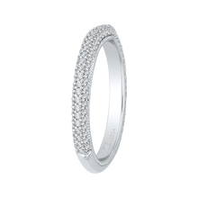 Load image into Gallery viewer, Cathedral Style Diamond Wedding Band Promezza PR0139BQ-44W-.50