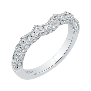 Winding Diamond Wedding Band Promezza PR0142BH-44W-.33