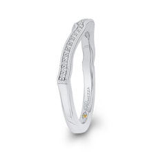 Load image into Gallery viewer, Round Diamond Wedding Band Promezza PR0174B-44W-.50