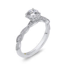 Load image into Gallery viewer, Round Diamond Engagement Ring Promezza PR0182ECH-44W-.50