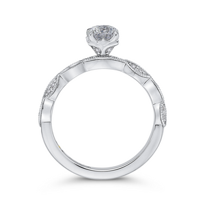 Round Diamond Engagement Ring Promezza PR0182ECH-44W-.50