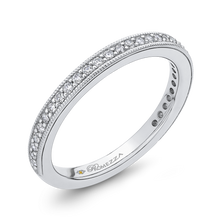 Load image into Gallery viewer, Round Diamond Wedding Band Promezza PR0184BQ-44W-.75