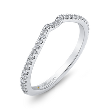 Load image into Gallery viewer, Twisted Diamond Wedding Band Promezza PR0189BQ-44W-.75