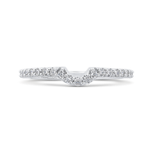 Load image into Gallery viewer, Open Twist Diamond Wedding Band Promezza PR0205BH-44W-.75