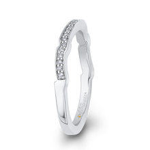 Load image into Gallery viewer, Diamond Wedding Band Promezza PR0206BH-44W-.75
