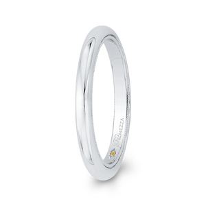 Plain Sleek Wedding Band Promezza PR0208B-W-.50