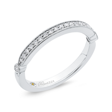 Load image into Gallery viewer, Diamond Wedding Band Promezza PR0224BH-44W-.50