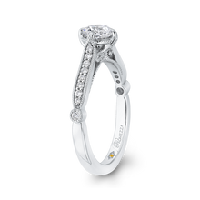 Load image into Gallery viewer, Round Diamond Engagement Ring Promezza PR0224ECH-44W-.50