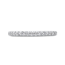 Load image into Gallery viewer, Diamond Studded Wedding Band Promezza PR0226BH-44W-.50