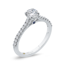 Load image into Gallery viewer, Cathedral Style Diamond Engagement Ring Promezza PR0227ECH-44W-.50